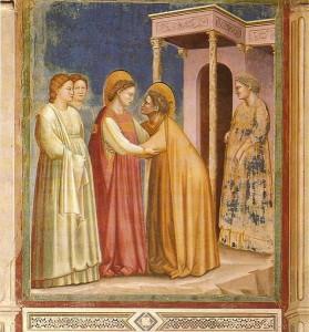 Giotto_-_Scrovegni_-_-16-_-_Visitation